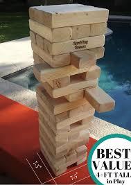 giant tumbling towers giant tumbling towers wood block stacking