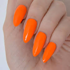 best orange color the 25 best orange nail polish ideas on pinterest julep nail