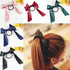 ribbon hair ties elastic hair band ebay