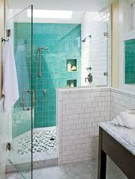 turquoise bathroom dip a toe into bold color painted ceilings in the bathroom