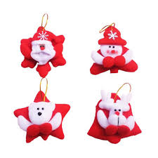 online get cheap fabric christmas ornaments aliexpress com