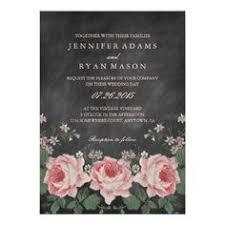wedding invitations groupon vintage floral decoupage wedding invitation 5 x 7 invitation