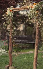 wedding arches made of branches tips for a rustic themed wedding ethical