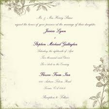 Wedding Invitations In Spanish Invitation Wording Wedding Invitation Format Wording Couple