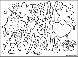unique coloring pages free printable abstract coloring pages for