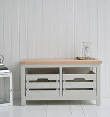 Bathroom Benches With Storage Willow Waste Basket In Grey Willow From The White Lighthouse New