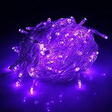 micro led christmas lights amazon com karlling battery operated purple 40 led fairy light
