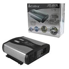 cobra 2500 5000w 12v dc to 120v ac car power inverter 3 outlets