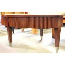 Ethan Allen Coffee Tables Ethan Allen Oval Coffee Table Upscale Consignment