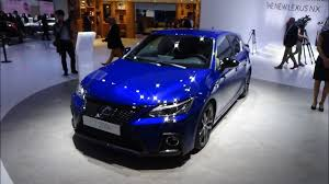 new lexus electric car 2018 lexus ct 200h exterior and interior iaa frankfurt 2017