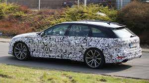 audi rs4 avant spied wearing a production body