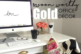 chic office decor chic gold office decor to inspire creativity the petite planner
