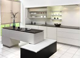 Kitchen Design Black And White Black And White Kitchen Designs With White Floor 51