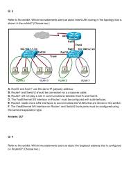 best cisco ccna practice test questions and study guide in pdf for