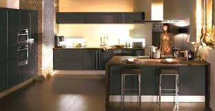 deco cuisine grise et meuble cuisine gris decoration cuisine bleu et collection et