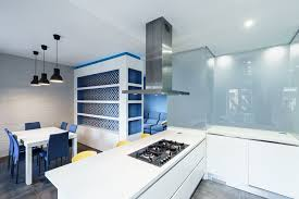 terrific apartment interior plan with cleanly white kitchen tone