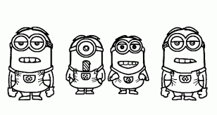 minions despicable coloring pages despicable coloring