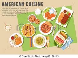 cuisine de fete plat plats cuisine américain fête barbecue icône clipart