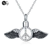cremation necklaces online get cheap angel wing cremation necklaces aliexpress