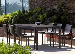 modern outdoor table and chairs una garden table garden tables contemporary garden furniture