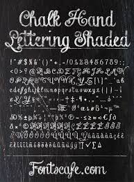 chalk hand lettering pack fonts fonts cafe