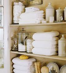 bathroom country bathroom towel storage shelving ideas small