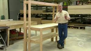 Build A Work Table How To Build A Work Bench Youtube