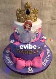 sofia cakes order beautiful sofia theme tiara cake online birthday cake in