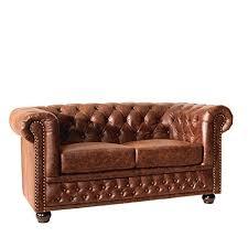 sofa leder braun 2 sitzer leder sofa sitzer in gelb leder benny