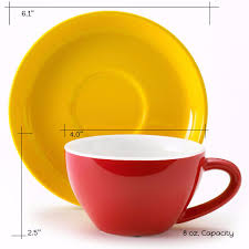 cappuccino cups and saucers easy living goods