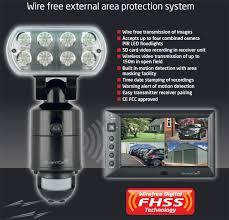 security light with camera built in gcamwfm esp guardcam wireless security led floodlight cctv camera