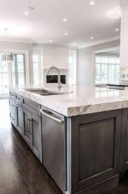marble topped kitchen island kitchen island countertop source contrasting island bench with