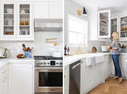 new kitchen furniture blogger emily henderson u0027s sunny kitchen transformation revealed