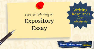 how to write an expository essay u2013 time4writing com time4writing