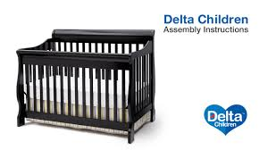 4 In 1 Convertible Crib by Delta Children Canton 4 In 1 Version B Crib Assembly Video Youtube