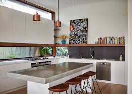 kitchen window backsplash marble countertop island copper pendant light window backsplash