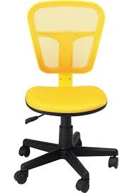 Office Chair Weight Capacity Homycasa Armless Swivel Office Mesh Computer Desk Chair Yellow