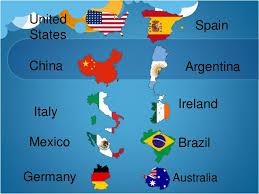 countries around the world emaps world