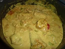 cuisiner la queue de lotte queue de lotte au lait de coco et au curry le sachet d épices