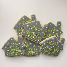welcome home cookies house warming gift new house cookies
