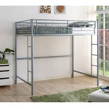 Full Size Bunk Bed With Desk Underneath Dhp Abode Full Loft Bed Hayneedle
