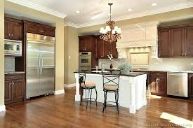 kitchen cabinets with countertops traditional two tone kitchen