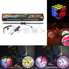 yq8003 bike light software excelvan yq8003 programmable bike colorful wheel light rgb leds ipx6