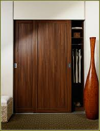 Sliding Closet Doors Wood The Functional Of Wood Sliding Closet Doors Interior Decorations