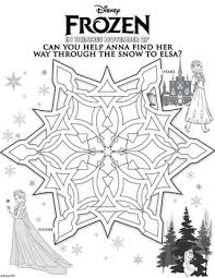 disney u0027s frozen free printable activity coloring sheets