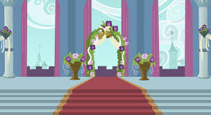 wedding backdrop altar background canterlot wedding altar by 90sigma on deviantart