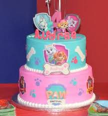 audree u0027s paw patrol birthday cake pawpatrol everest skye