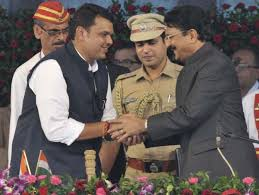 Maharashtra Cabinet Ministers Fadnavis Sworn In As First Bjp Cm Of Maharashtra Rediff Com