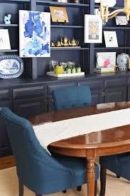 Best Dining Room Images On Pinterest Blue Dining Rooms - Navy blue dining room