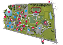 University Of Tennessee Parking Map by Campus Location And Maps Benedictine Chicago Catholic